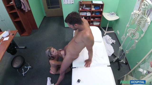 Russian skinny blonde Ginga Gerson in Fake Hospital Video thumb #13