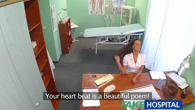 Fake Hospital - Doctor gets the new nurse to suck his cock Video thumb #4