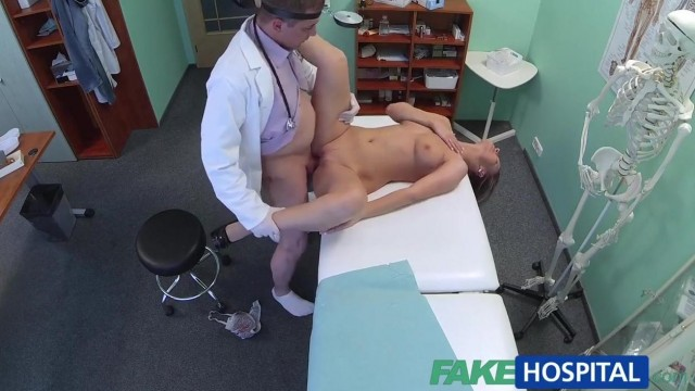 Blonde patient really wants doctor to fuck her holes Video thumb #13