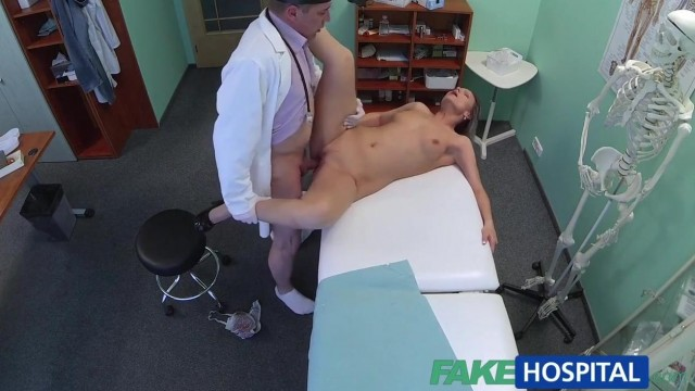 Blonde patient really wants doctor to fuck her holes Video thumb #19