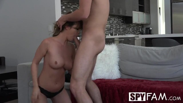 Spy-Fam Dillion Harper fucks and sucks step brother Video thumb #5