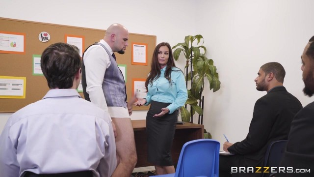 Busty MILF Diamond Foxxx appears in Brazzers movie HR Whorientation Video thumb #0