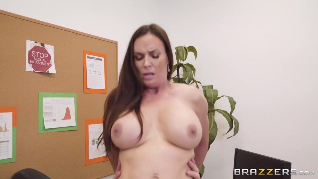 Busty MILF Diamond Foxxx appears in Brazzers movie HR Whorientation Video thumb #10