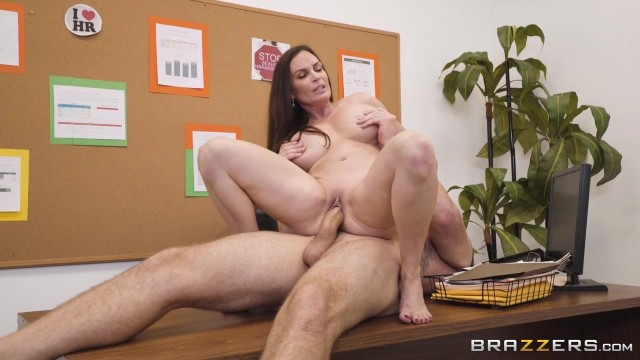 Busty MILF Diamond Foxxx appears in Brazzers movie HR Whorientation Video thumb #12