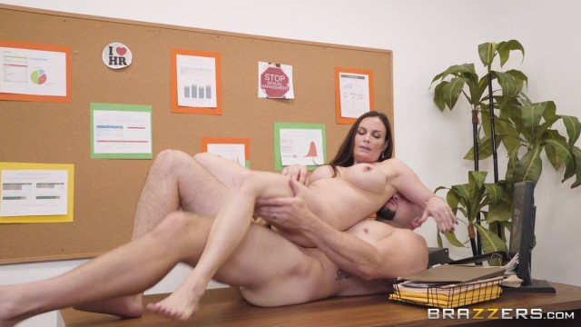 Busty MILF Diamond Foxxx appears in Brazzers movie HR Whorientation Video thumb #13
