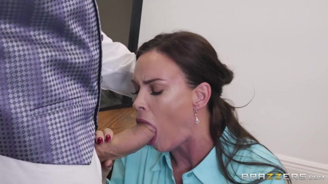 Busty MILF Diamond Foxxx appears in Brazzers movie HR Whorientation Video thumb #1