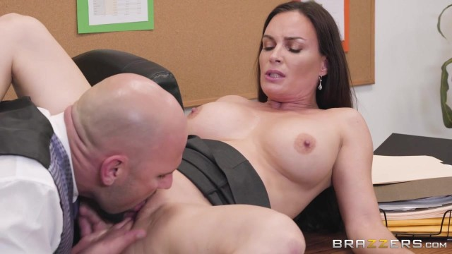 Busty MILF Diamond Foxxx appears in Brazzers movie HR Whorientation Video thumb #7