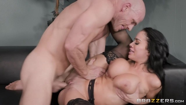Busty Latina MILF Victoria June Has Fun With Johnny Sins' big cock Video thumb #10