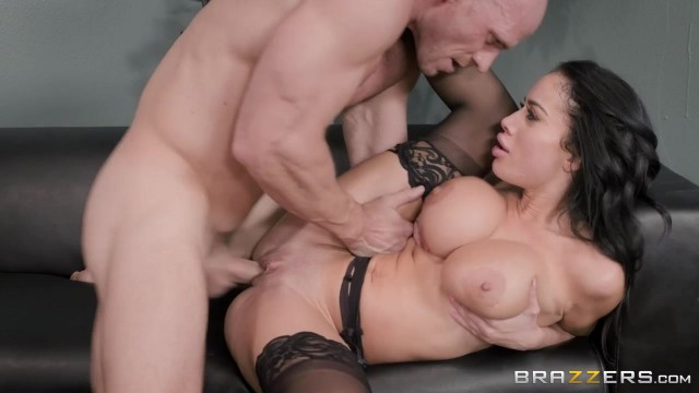 Busty Latina MILF Victoria June Has Fun With Johnny Sins' big cock Video thumb #11