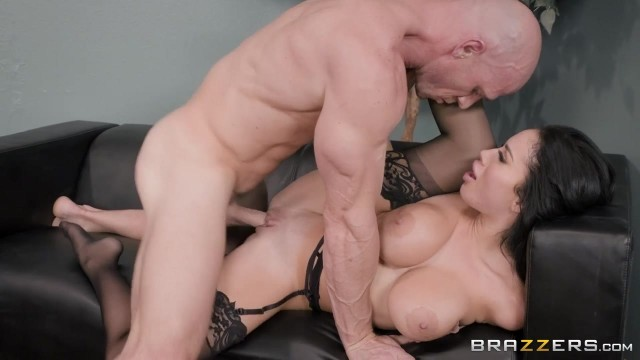 Busty Latina MILF Victoria June Has Fun With Johnny Sins' big cock Video thumb #4