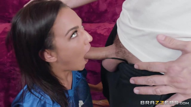 Amara Romani anal sex scene at the Brazzers *Ass In The End Zone* Video thumb #3