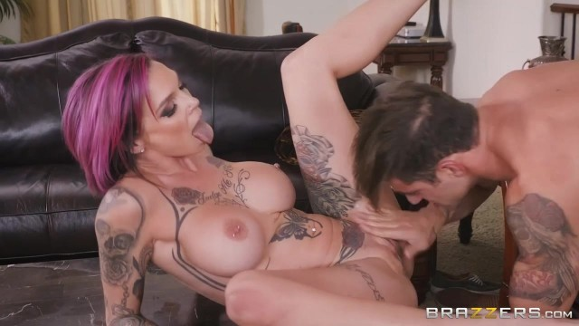 Anna Bell Peaks gets her pussy licked while playing playstation Video thumb #15