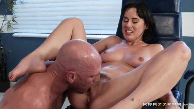 BRAZZERS Johnny Sins Bangs Sexy Brunette Olive Glass Video thumb #19