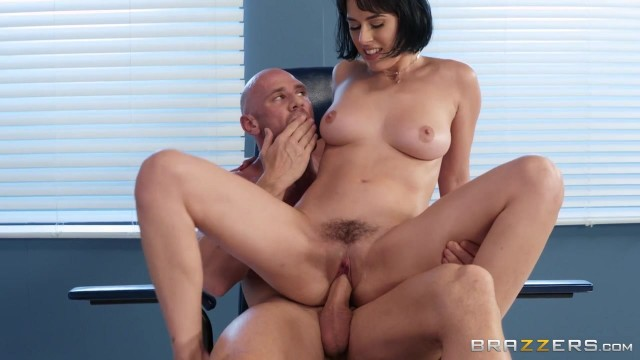 BRAZZERS Johnny Sins Bangs Sexy Brunette Olive Glass Video thumb #2