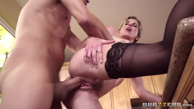 Cory Chase Porn Videos - Busty MILF nailed in the kitchen Video thumb #9