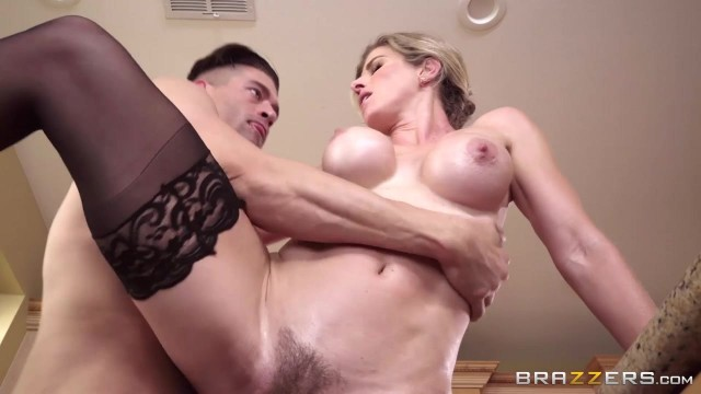 Cory Chase Porn Videos - Busty MILF nailed in the kitchen Video thumb #11