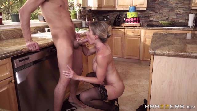Cory Chase Porn Videos - Busty MILF nailed in the kitchen Video thumb #19