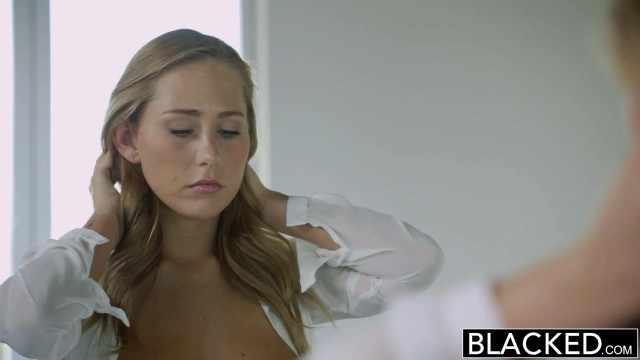 Carter Cruise gives sloppy blowjob before doggy sex for blacked Video thumb #0