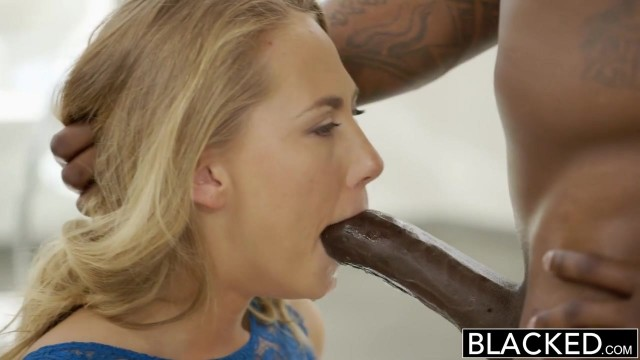 Carter Cruise gives sloppy blowjob before doggy sex for blacked Video thumb #5