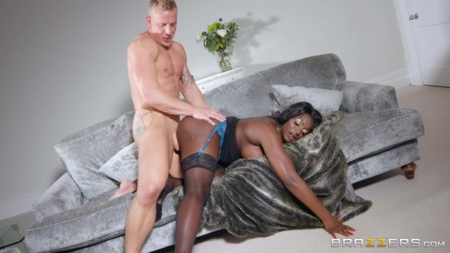 BBW Ebony MILF Jai James fucked by old lucky daddy