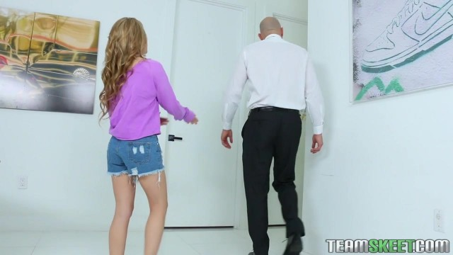 Lilly Ford gives sloppy head and rides Johnny Sins big cock Video thumb #2