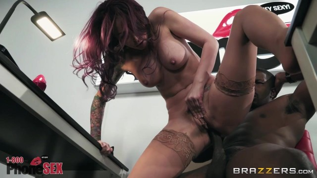 BRAZZERS 2018 - Monique Alexander 1 800 Phone Sex Line 7 Video thumb #12