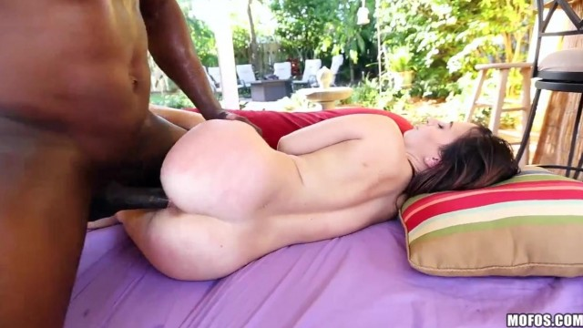 Petite Brunette Kylie Rose Takes Black Monster Cock Video thumb #14