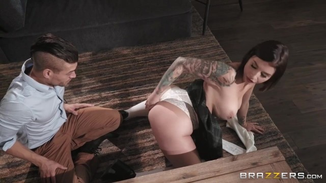 Brazzers 2018 - Ivy Lebelle starts with titfuck with Xander Corvus Video thumb #1