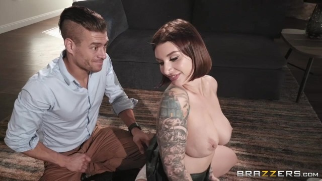 Brazzers 2018 - Ivy Lebelle starts with titfuck with Xander Corvus