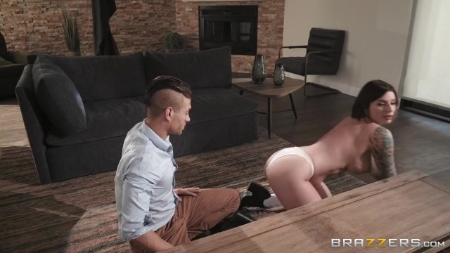 Brazzers 2018 - Ivy Lebelle starts with titfuck with Xander Corvus Video thumb #3