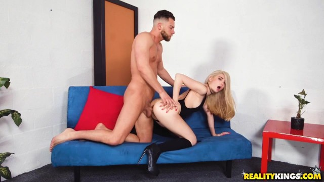 Petite Jane Wilde Nailed Doggy Style Video thumb #1