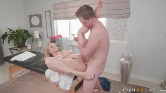 Julia Ann gets her big boobs squeezed before sex Video thumb #6