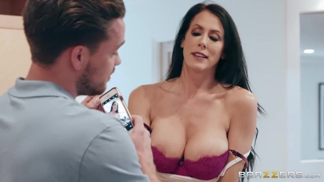 Sending Stepmom's Nudes with Kyle Mason and Reagan Foxx Video thumb #0