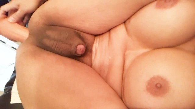 Amateur Shemale Prostate Orgasm With Dildo Video thumb #15