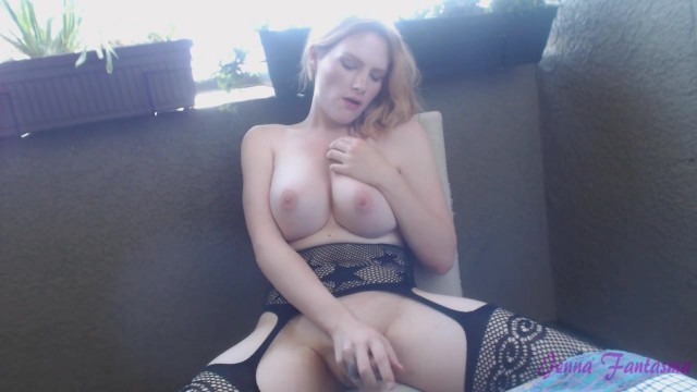 Big tit blonde shemale jerking off Video thumb #13