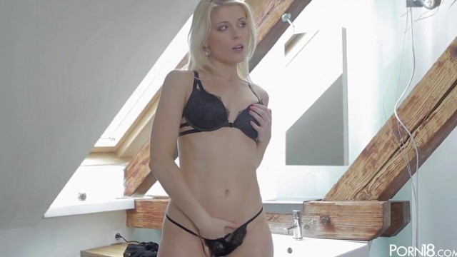 Petite Czech Porn star Sweet Cat Gets Her Pussy Licked Video thumb #1