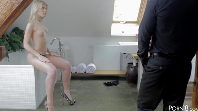 Petite Czech Porn star Sweet Cat Gets Her Pussy Licked Video thumb #4
