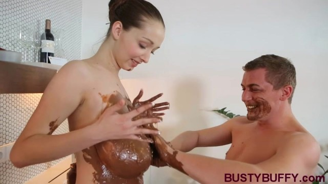 Busty Buffy Chocolate and Cumshot Video thumb #8