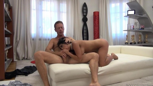 Kesha Ortega does reverse cowgirl on Rocco Siffredi's big cock