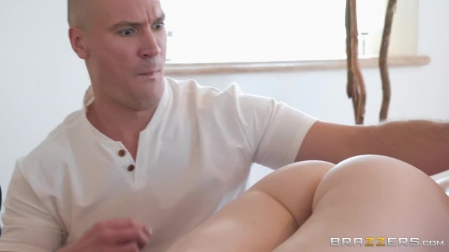 Pervert Masseur with big cock screws Lily Rader Video thumb #0