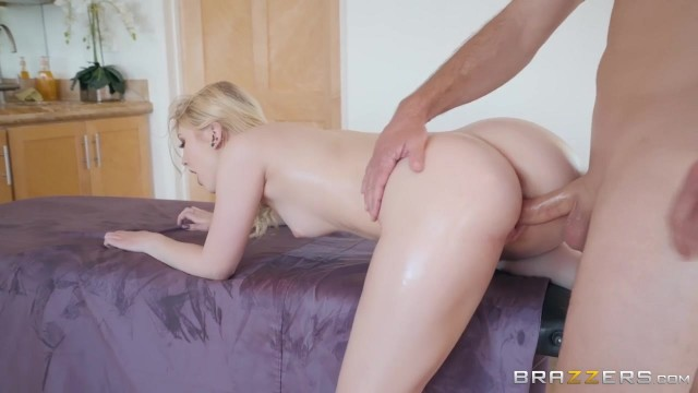 Pervert Masseur with big cock screws Lily Rader Video thumb #13