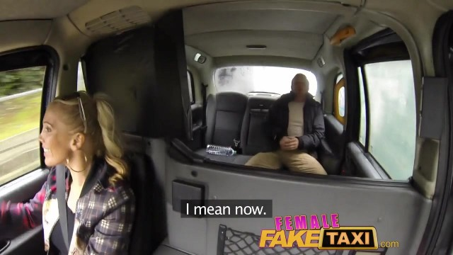 Female Fake Taxi Facial Compilation Video thumb #7