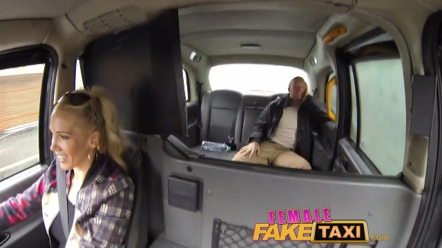 Female Fake Taxi Facial Compilation Video thumb #8