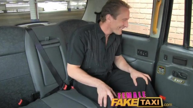 FemaleFaxiTaxi - Interracial blowjob , facial and group sex in taxi Video thumb #10