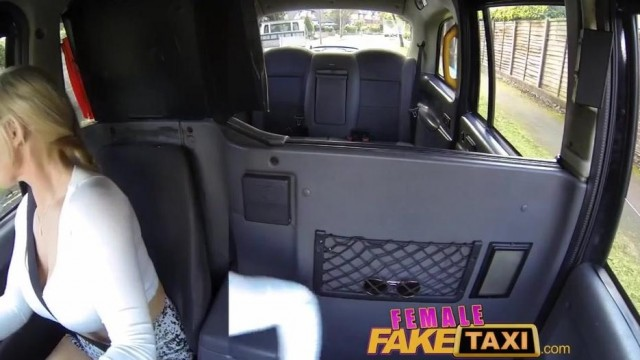 FemaleFaxiTaxi - Interracial blowjob , facial and group sex in taxi Video thumb #13