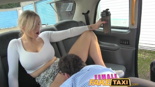FemaleFaxiTaxi - Interracial blowjob , facial and group sex in taxi Video thumb #17