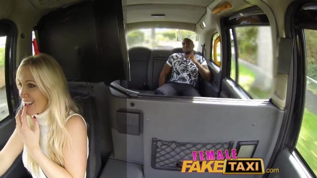 Fake Blonde Female taxi driver creampied Video thumb #7