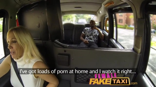 Fake Blonde Female taxi driver creampied Video thumb #8