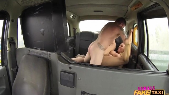 Fake Taxi Female driver gives Head on the backseat Video thumb #11