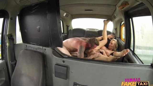 Fake Taxi Female driver gives Head on the backseat Video thumb #12